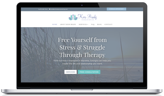Keir Brady Counseling Website