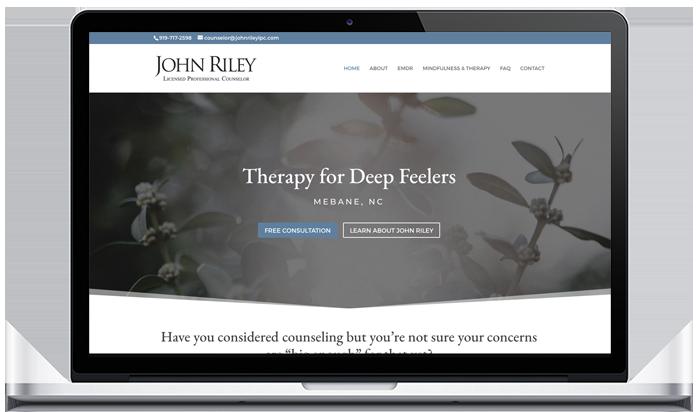 Psychologist website design
