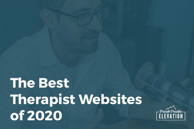 The Best Therapist Websites of 2020